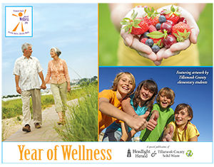 2016 Year of Wellness Calendar