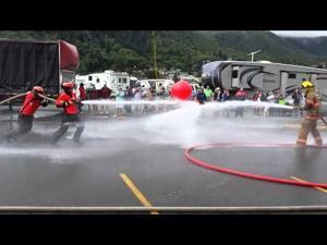 USCG Ramrod beats Garibaldi firefighters 2015