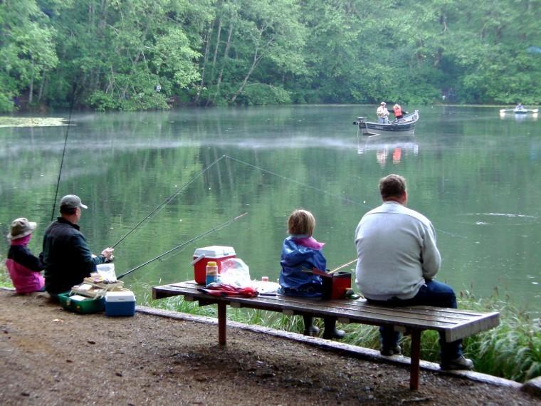 Free fishing event at hebo lake june 9 news for Oregon free fishing day 2017