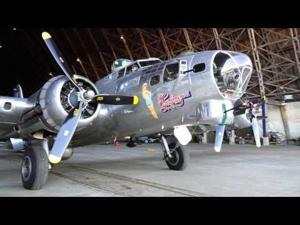 Flying Fortress moves into Air Museum