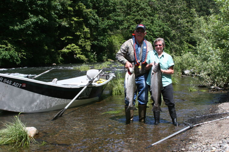 Excellent springer fishing helps break 54 year old curse for Tillamook fishing report