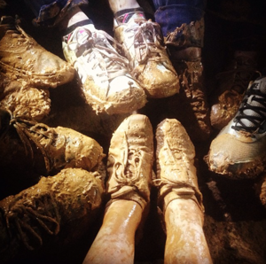 <p>A caving adventure led Times-Journal editorial staffers to have muddy shoes and happy hearts Tuesday, May 26, 2015.</p>