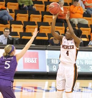 <p>Alicia Williams started 22 games last season during her senior year for Mercer University and averaged 9.3 points per game.</p>