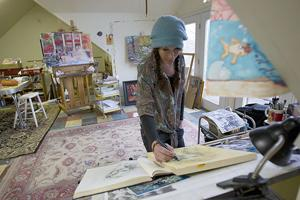 <p>Fort Payne artist Lydia Randolph will join artists from around the region for Boom Days on Sept. 19.</p>