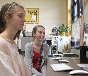 Students interview Bentley