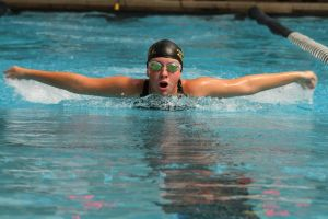 <p>McKenzi Brown-Lands spent 15 years swimming for the Fort Payne Aquacats.</p>