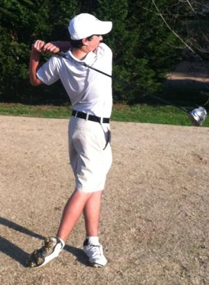 <p>Seventh grader Dawson Garrett finished with a one over par 72 Tuesday.</p>