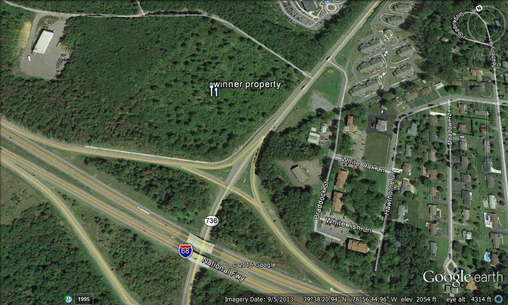 Face Of Interstate 68 39 S Exit 33 Could Change Dramatically