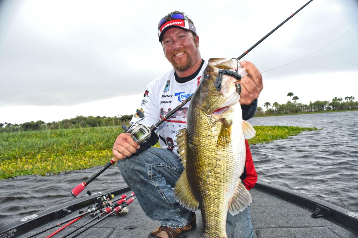 J t kenney still turning bass into cash news times for Professional bass fishing