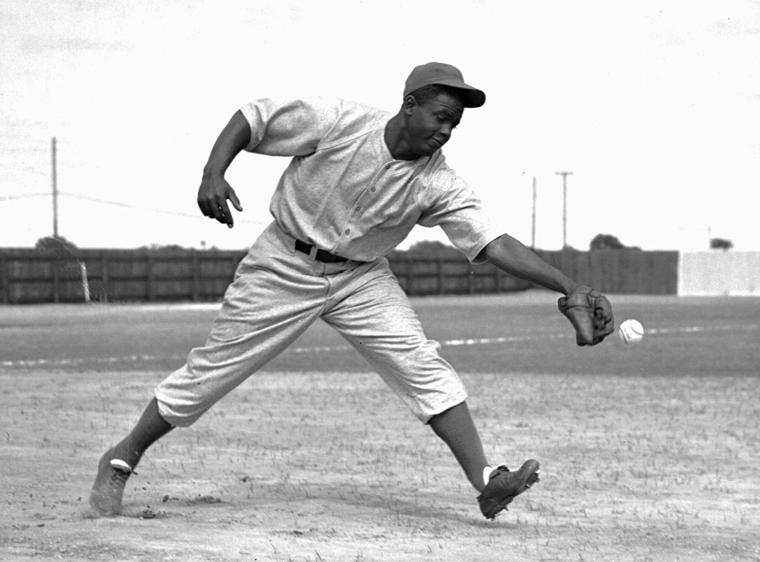 Jackie Robinson. Being the first black baseball player to play in the ...