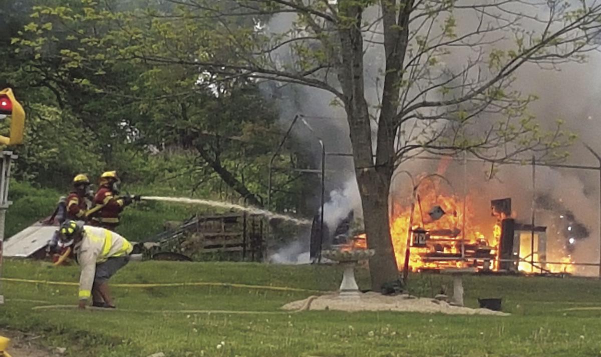 Fire Destroys Woodland Avenue Carport Local