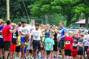 <p>Despite drizzly weather, there was a great turnout for the Coudersport Libray 5K Race, Walk and Kids Fun Run held recently in Coudersport. The event was a fundraiser for the new library building. </p>