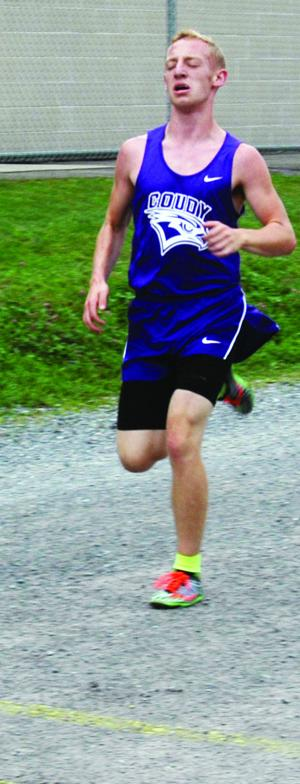 <p>Devan Cavanaugh of Coudersport finished first Sept. 9 with a time of 18:04 in Coudersport as the Falcons defeated Smethport both in boys and girls cross country. </p><div> </div>