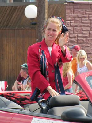 Tioga Old Home Day parade marshal