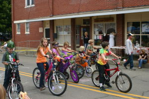 <p>A bicycle parade for the kids is just one of the events to enjoy at the Fall Festival in Ulysses. </p><div> </div>