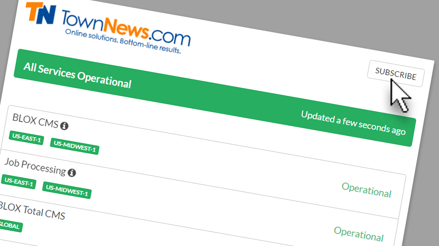 Introducing our new system status page
