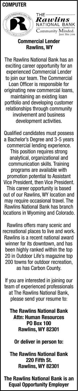 Rawlins National Bank