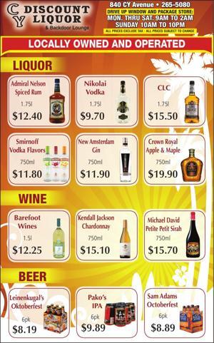 CY Discount Liquor