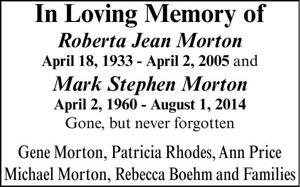 Patricia Rhodes Memorial