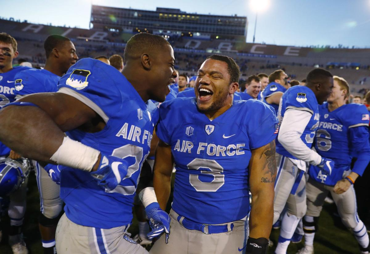 Air Force spoils Boise State title hopes