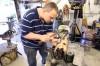 Travis Blankenbaker Makes Medieval Fighting Equipment
