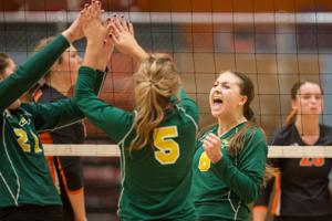 Gallery: Natrona County vs. Kelly Walsh Volleyball