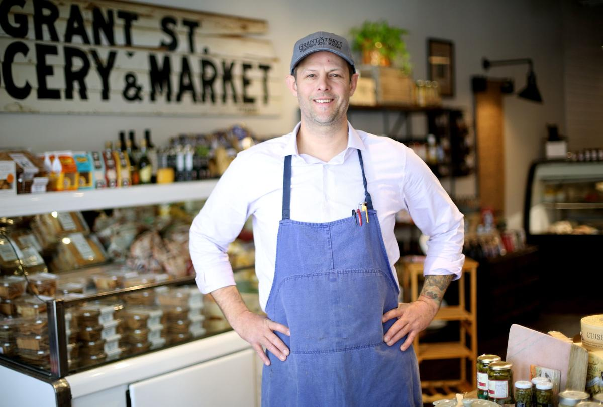 Blue apron ownership - Grant Street Grocery