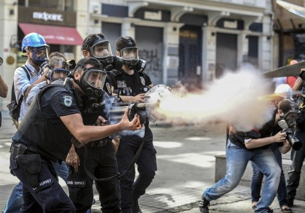 Choking Human Rights in Turkey Equals Big Profits for US Tear Gas Makers