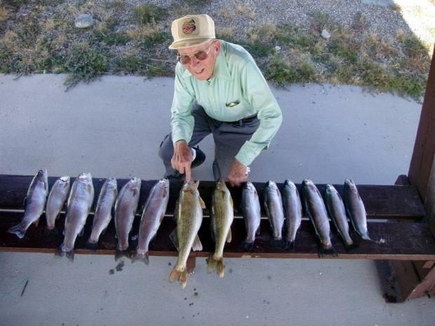 Fish Stories Casper Angler Takes His Hero Fishing Open