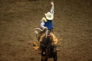 Gallery: College National Finals Rodeo, Friday performance