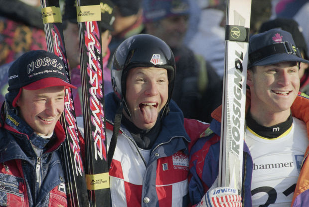 the rise of tommy moe the legendary downhill skier Street hopes come back trail leads to top of mountain  tommy moe, 1994 downhill olympic gold medalist, also back from a devastating knee injury, has yet to recapture his form  no skier has.