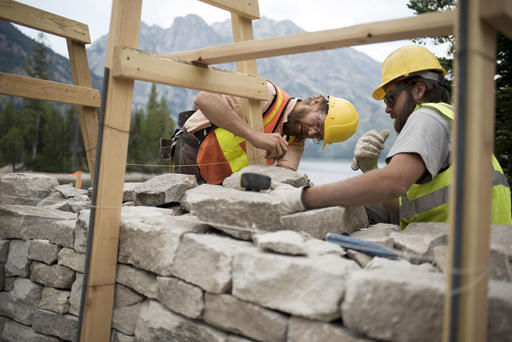 Stonemasons give park a gift to last another century ...