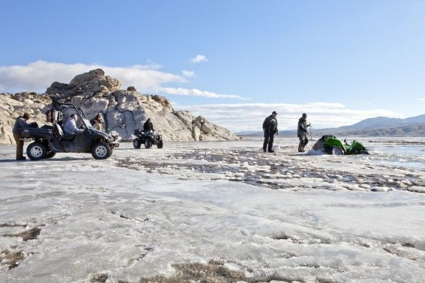 Cold Weather Brings Ice Fishing Earlier Than Normal In Wyoming