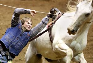 Gallery: College National Finals Rodeo, Tuesday slack