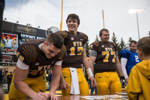 Gallery: Wyoming Football Spring Game