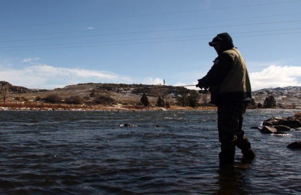 Fishing regulations change first of year open spaces for Miracle mile fishing