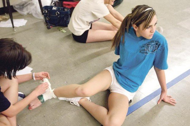 Cheerleaders Deal With Regular Injuries But Wyo Largely Avoids Catastrophic Accidents