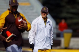 For Wyoming football, Bohl's arrival means new atmosphere in Laramie