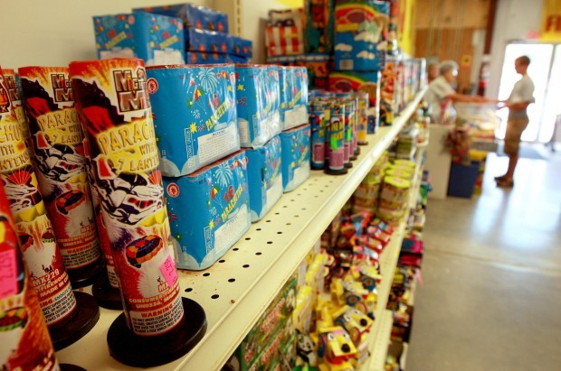 Wildfires slam fireworks sales in Wyoming