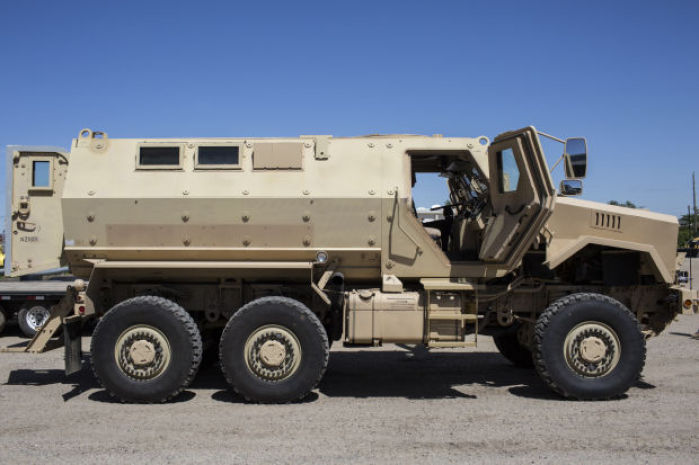 Wyoming Cops Pick Up Their Fourth Military Surplus Armored