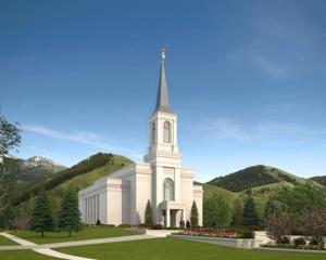 Gallery: LDS Church breaks ground on Wyoming temple