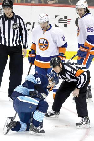 Crosby hurt
