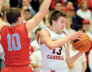Cambria Heights vs. Central Cambria Boys Basketball