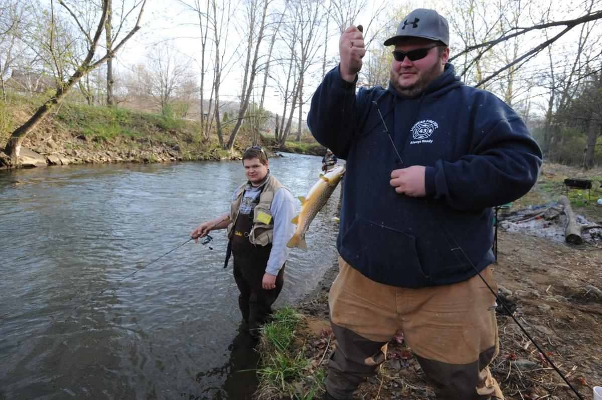 Great weather adds to anglers 39 excitement as trout season for Pa fishing season 2017