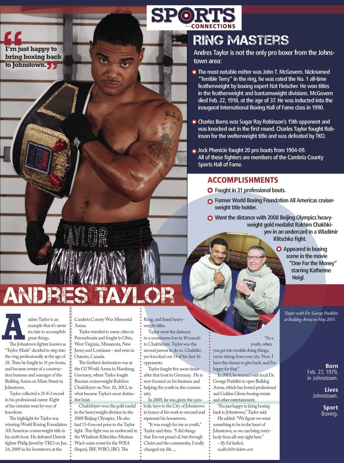sports connections taylor made revives boxing tradition in andres taylor