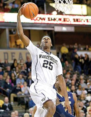 Pittsburgh Wake Forest Basketball