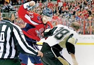 Penguins Capitals Hockey