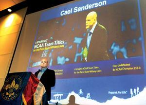 45th Annual Boy Scout Dinner | Cael Sanderson