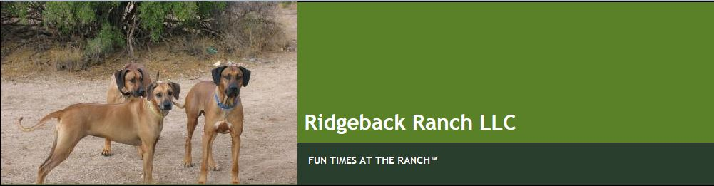 Ridgeback Ranch