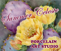 Summer Celeste Porcelain Art Studio